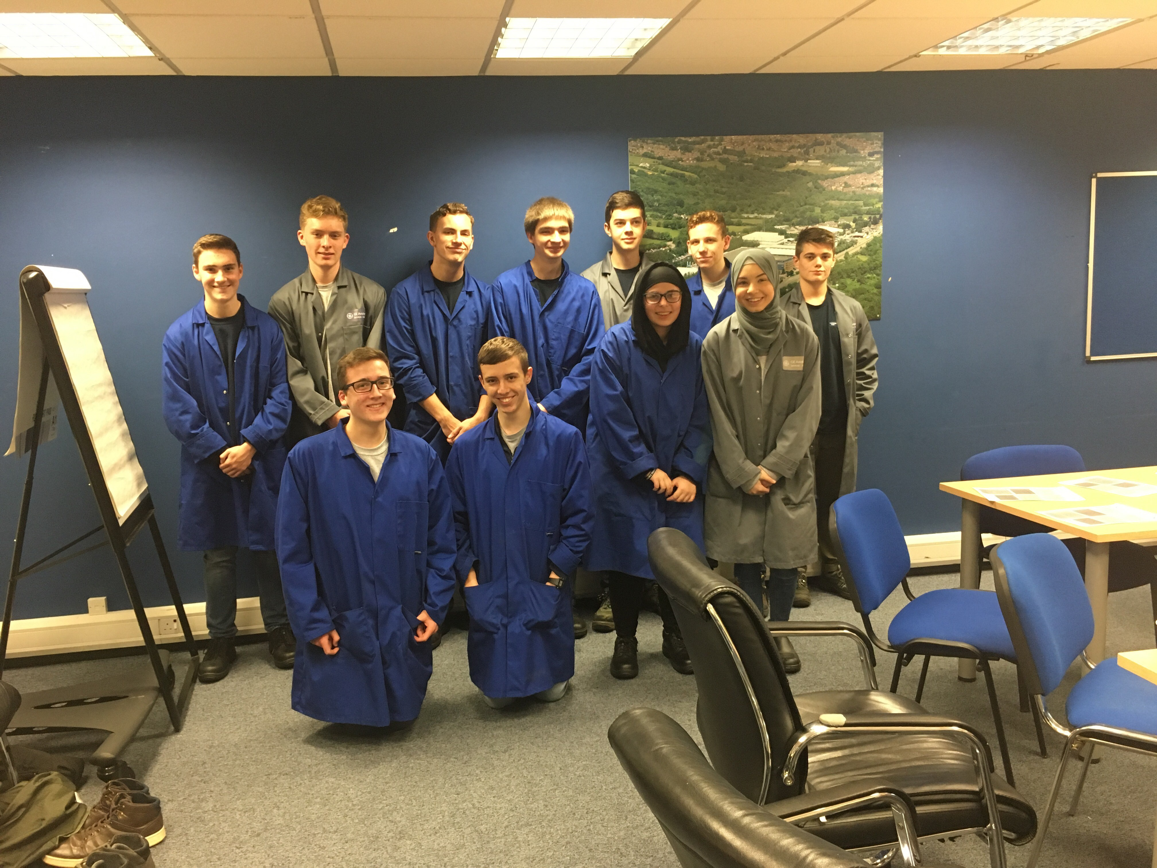 Year 12 trip to ge for EESW